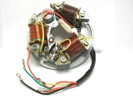 97709 Electric, Stator embly, VBB2 Vespa ScooterMercato.com on