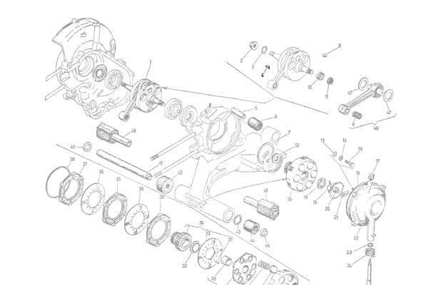 267 Engine, Woodruff Key, Flywheel Vespa ScooterMercato.com